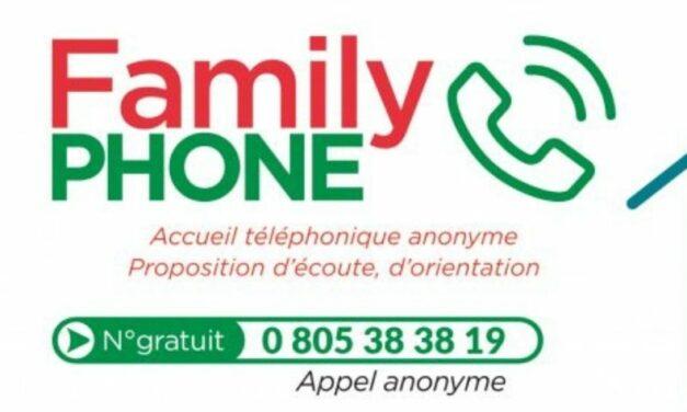 FamilyPhone – le service reste ouvert